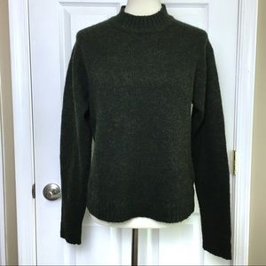 ARMANI EXCHANGE Green Wool Pullover Sweater Small